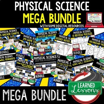 Physical Science MEGA BUNDLE (Physical Science Bundle, Curriculum)