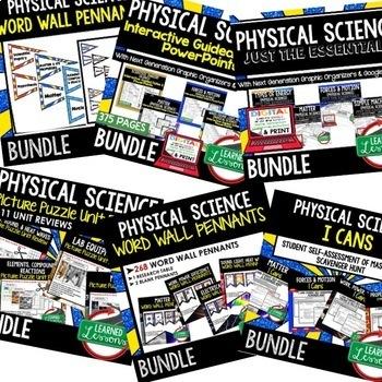 Physical Science MEGA BUNDLE (Physical Science Bundle, Curriculum)