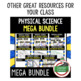 Physical Science Pacing Guide/Goes with Physical Science Mega Bundle