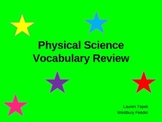 Physical Science: Making Vocabulary Exciting