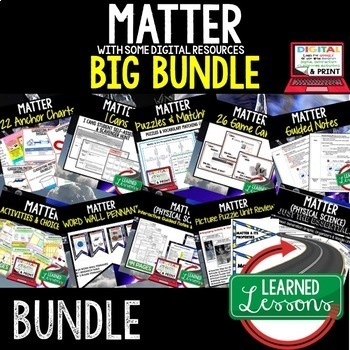 Physical Science Matter & It's Properties (Physical Science BUNDLE)