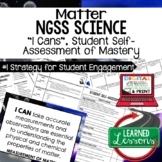 Matter I Cans, Matter I Can Posters, Physical Science I Cans NGSS