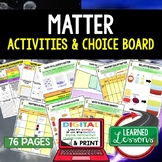 Physical Science Matter & Its Properties Activities, Choic