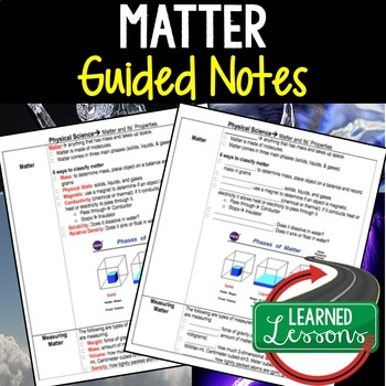 Physical Science Matter and Its Properties Student-Teacher