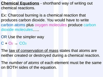 Element and Compound Power Point Lesson
