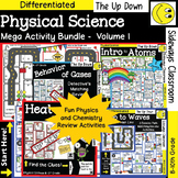 Physical Science Mega Review Activity Bundle Volume #1 (Ph