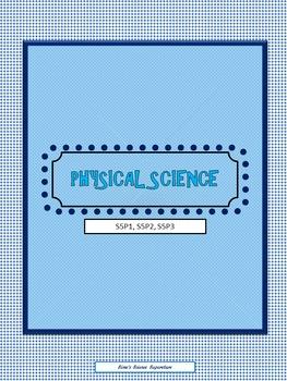 Physical Science Unit Lesson Plans, S5P1, S5P2, S5P3