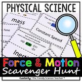 Force & Motion Scavenger Hunt Activity