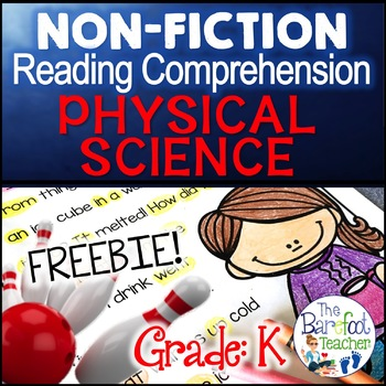 Physical Science Non-Fiction Reading Comprehension Passage