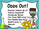 STAAR REVIEW  Physical Properties, Matter, Tools, Gr. 4-5