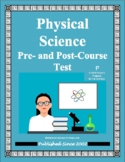 Physical Science Pre- and Post-Course Test