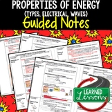 Physical Science Properties of Energy  Student and Teacher Guided Notes