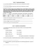 Physical Science Quizzes Semester 1 Set of 22