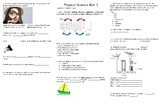 Physical Science REVIEW Mat 3