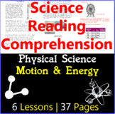 Physical Science Reading Comprehension Passages | Motion &