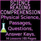 Physical Science Reading Comprehension Passages and Questions | Bundle | Gr3-4