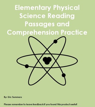 Physical Science Reading Passages with Comprehension Practice