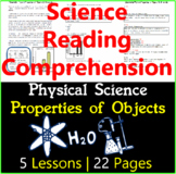 Physical Science Passages | Properties of Objects & Materials | Gr3-4