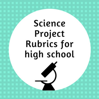 Physical Science Rubrics, Posters, Worksheets (Bundle)