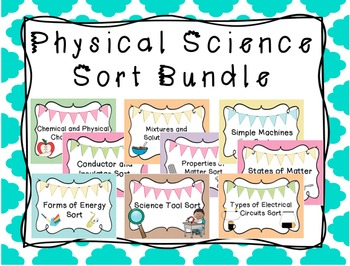 Physical Science Sort Bundle