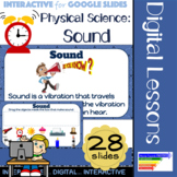 Physical Science: Sound Interactive for Google Classroom