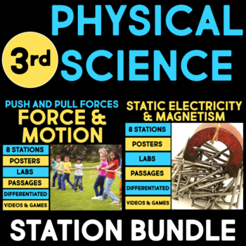 Physical Science Stations for Third Grade