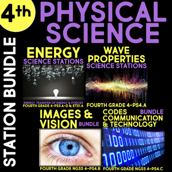 Physical Science Stations for Fourth Grade