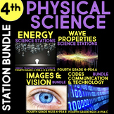 Physical Science Stations BUNDLE for Fourth Grade