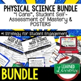 Physical Science Student Self Assessment  I Cans (Physical