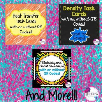 Physical Science Task Card Bundle! 25% Savings!