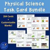 Middle School Physical Science Task Card Mega Bundle - HUG