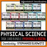 Physical Science Physics Task Card Bundle