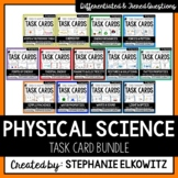 Physical Science Physics Task Card Bundle