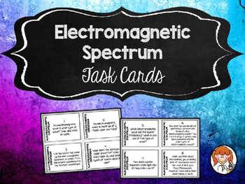 Physical Science Task Cards - Growing Bundle