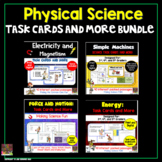 Physical Science Task Cards Bundle