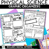 Physical Science Topics Graphic Organizer Sketch Note Review INB Activity Bundle