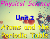 Physical Science: Unit 2 Atoms and the Periodic Table