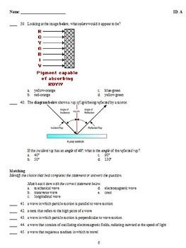 Overview Waves Worksheet Answers - Worksheet List
