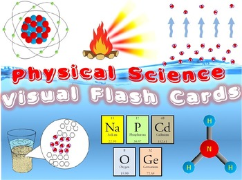 Physical Science - Visual Flash Cards