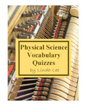 Physical Science Vocabulary Quizzes