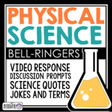 Physical Science Warm Ups and Bell Ringers - Full Year Resource