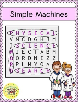 Simple Machines Word Search