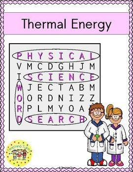 Thermal Energy Word Search