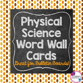 Physical Science Word Wall