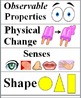 Physical Science Word Wall Bundle - Matter, Light, Electricity, Magnets, & Sound