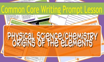 Physical Science/Chemistry Common Core Prompt - Elements D