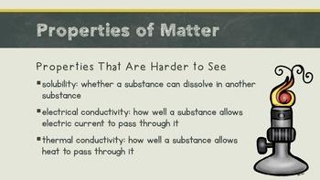 Physical Sciences: Matter Presentation