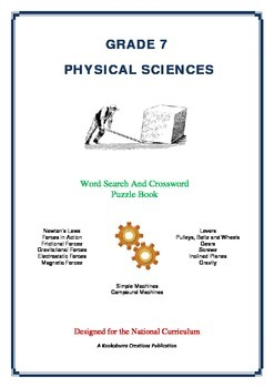Physical Sciences - 60 Pages - Wordsearch and Crossword Puzzle Book (AC Ed)