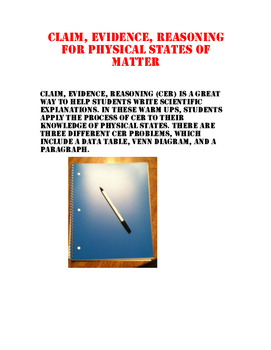 Physical States of Matter CER