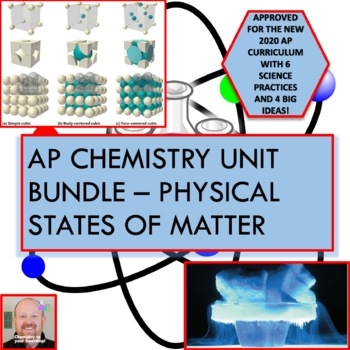 AP Chemistry Unit Bundle - Physical States of Matter